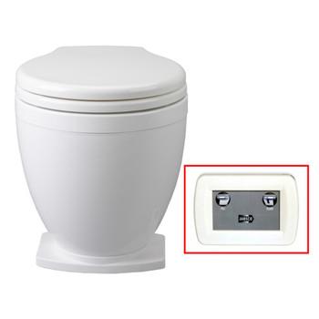 Jabsco Lite Flush Toilet with Control Panel - 24V