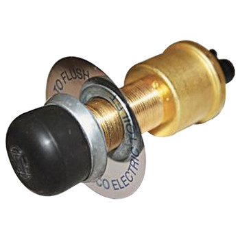Jabsco Toilet Switch and Plate - 12V/24V