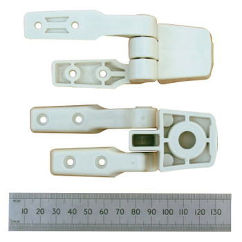 Jabsco Hinge Set for Compact Toilet