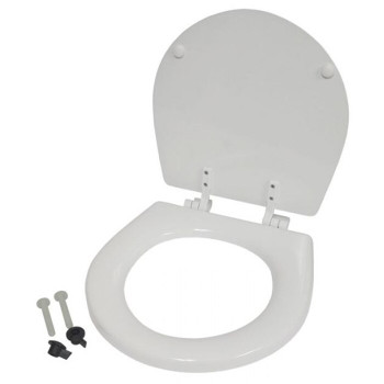 Jabsco Manual Toilet Replacement Seat and Lid - Compact