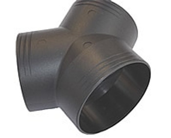 Webasto Y-Pipe Duct Connector - 80mm-60mm-60mm