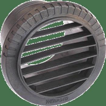 Webasto 80mm Duct Outlet - 45 Degrees