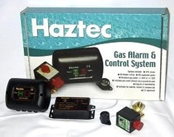 Haztec Gas Alarm and Control System 12 volt / 2 Sensor (LPG)