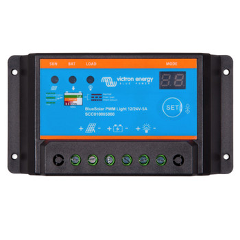 Victron Energy BlueSolar PWM-Light Charge Controller - 12V/24V (5A)
