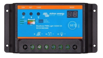 Victron Energy Bluesolar PWM Charge Controller - 12V/24V (20A)