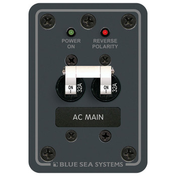 Blue Sea AC Main Panel - 230V (32A)