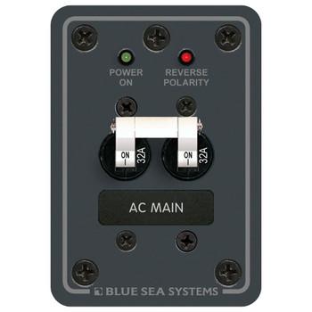Blue Sea AC Main Panel - 230V (32A)