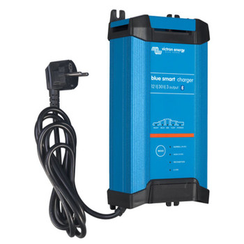 Victron Energy Blue Power Charger IP22 - 12V (30A) - 3 Outlet - Side View