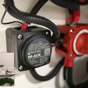 Blue Sea Add-A-Battery Mini Kit  - 65A - Fitting View