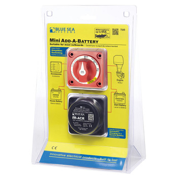 Blue Sea Add-A-Battery Mini Kit  - 65A