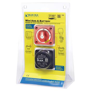 Blue Sea Add-A-Battery Mini Kit  - 65A
