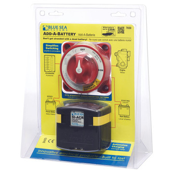Blue Sea Add-A-Battery Kit - 120A