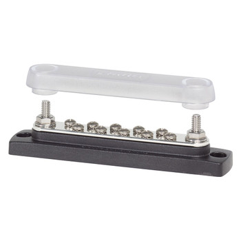 Blue Sea Common BusBar with Cover - 10 Gang - 150A
