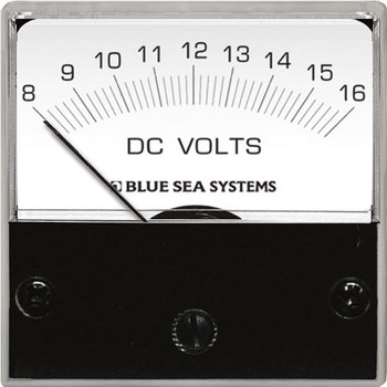 Blue Sea DC Micro Voltmeter - 8V to 16V