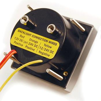 Blue Sea DC Micro Voltmeter - 8V to 16V - Back View