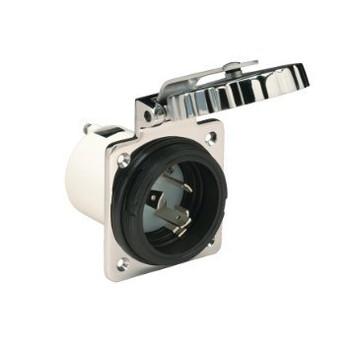 Marinco 16A S/S Power Socket