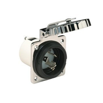 Marinco 16A S/S Power Socket