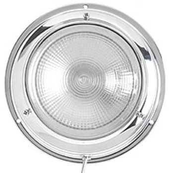 Roca  140mm Surface Mounted Round Cabin Light
