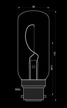 Danlamp Navigation Light Bulb for AQ70 - 24V X 35CD X 50W