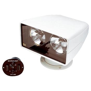 Jabsco 255SL Remote Control Searchlight - Twin Bulb - 12V (10A)