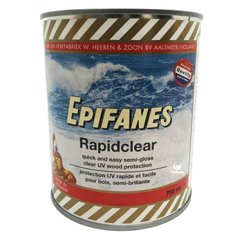 Epifanes Rapid Clear Varnish - 750ml