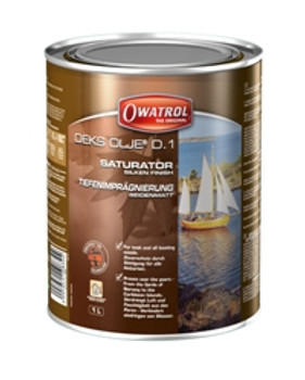 Owatrol Deks Olje D1 - Wood Saturating Oil