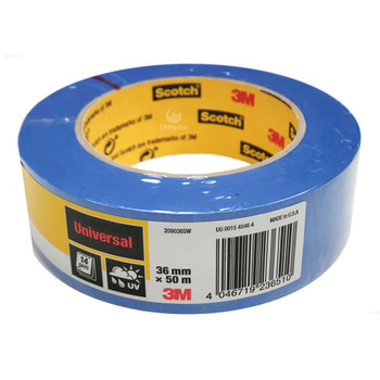 3M 14 Day Blue Painter's  Masking Tape 36mm x 55m