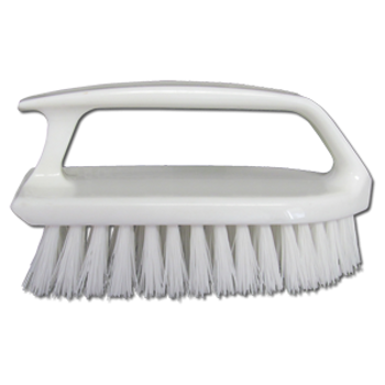 Starbrite Scrubbing Brush - Curved Plastic Handle