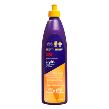 3M Perfect-It Gelcoat Light Cutting Polish + Wax - 473ml