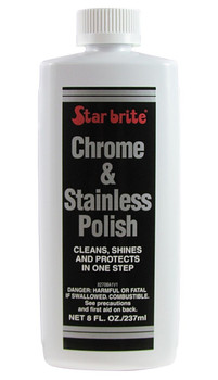Starbrite Chrome and Stainless Polish - 250ml