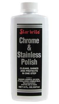Starbrite Chrome and Stainless Polish - 250ml