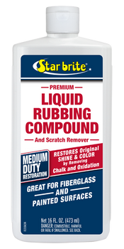 Starbrite Liquid Rubbing Compound - Medium - 473ml