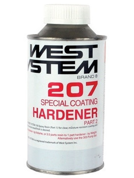 West System 207 Special Clear Hardener  290grm