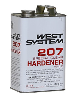 West System 207 Special Coating Hardener - 1.4kg Large