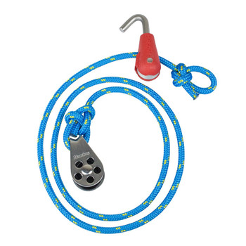 Optiparts Optimist Halyard with Hook-in Block for Silver Mast