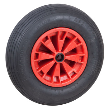 Optiparts Spare Pneumatic Trolley Wheel - Single - Large