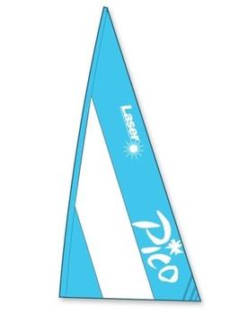 Laser Pico Sail -  Mainsail Blue & White