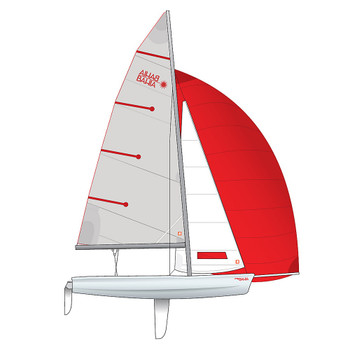 Laser Bahia Dinghy - Performance Rig