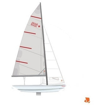 Laser Performance Bahia Main Sail - Dacron