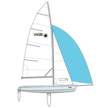 Laser Vago Race Sailboat