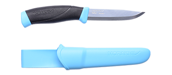 Morakniv Companion Knife with Sheath - Blue