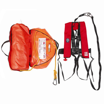 Crewsaver Rescue System - Lifejacket, Safety Line & Quick Release Hook
