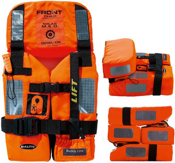 Baltic 2010 M.E.D/SOLAS Approved Child Lifejacket 15-43kg