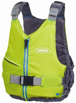 Yak Kallista Buoyancy Aid 50N, Yellow/Green, Front