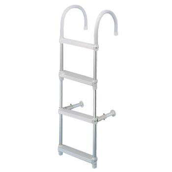Trem Aluminium Boarding Ladder - 120cm & 26cm - 4 steps