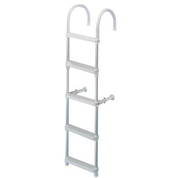 Trem Aluminium Boarding Ladder - 145cm & 26cm - 5 steps