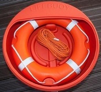Lifebuoy Cabinet - Fits 30'' Lifebuoy