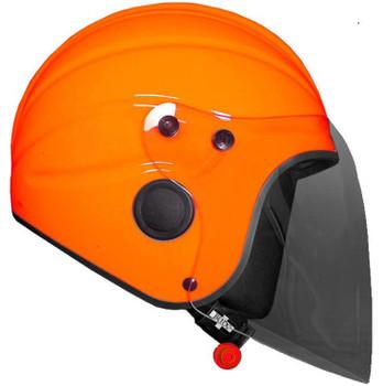 Gecko Helmet with Smoke Long Visor