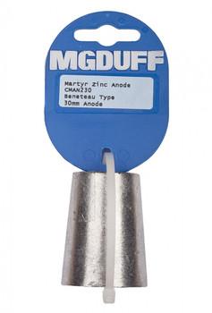 MGDuff Beneteau Propellor Anode CMAN230 - Zinc 30mm
