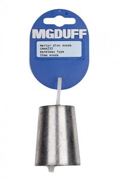 MGDuff Beneteau Zinc Propellor Anode CMAN235 35mm